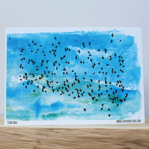 Picture of Flock Postcard