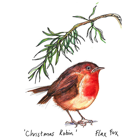 Picture of Christmas Robin