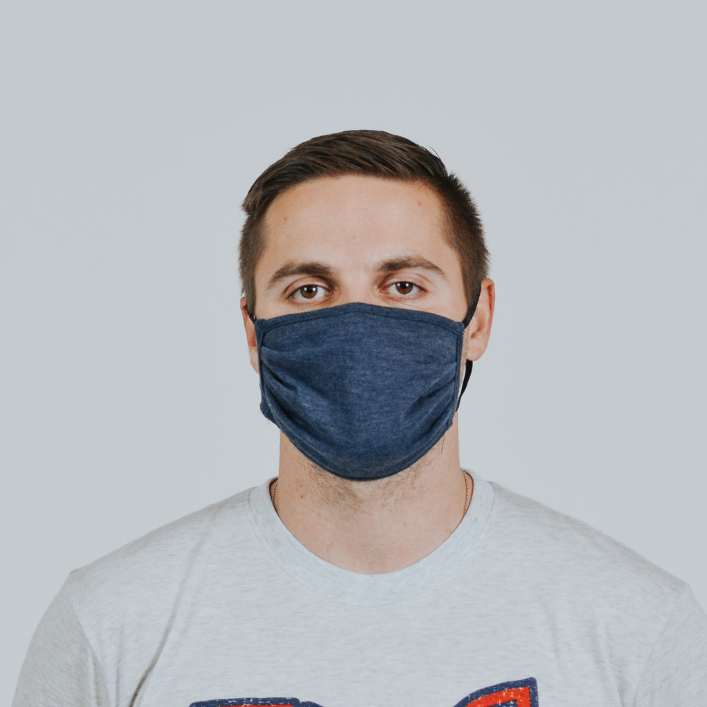 Navy Cloth Mask