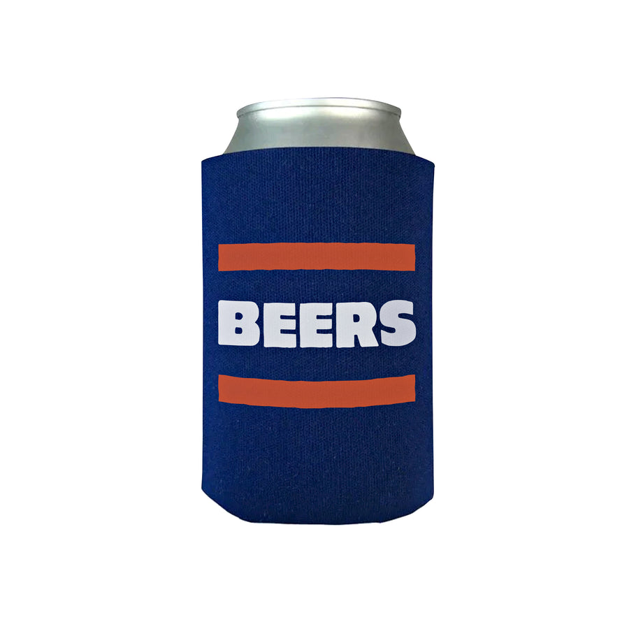 Chicago Bears Beer Koozie