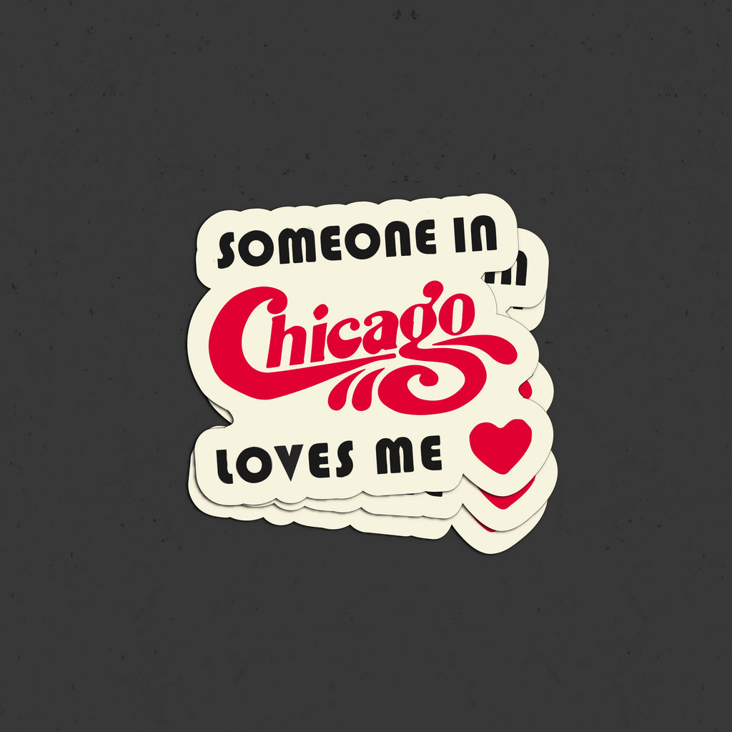 Retro Chicago Sticker