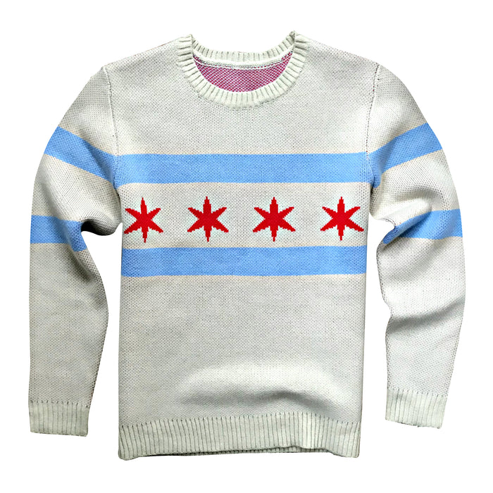 Chicago Flag Sweater