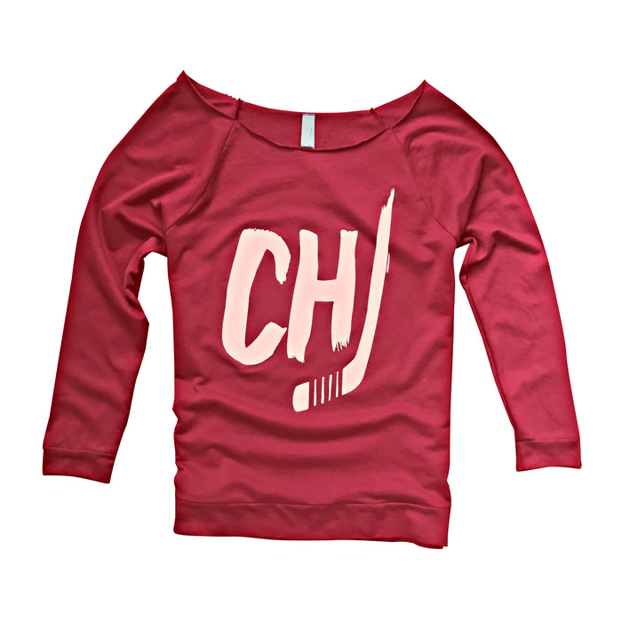 Chicago Hockey Scoopneck