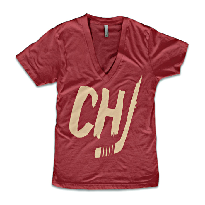 Chicago Hockey V-Neck