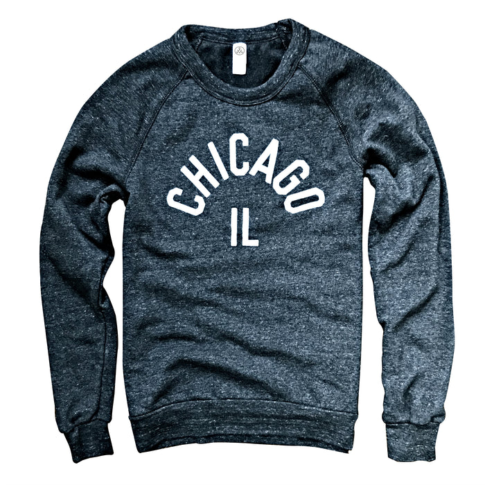 Chicago IL Gray Crewneck