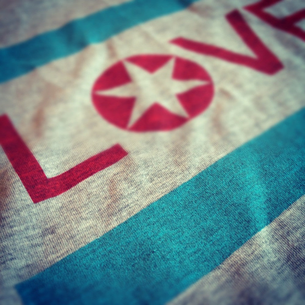 Chicago Love Flag Tee