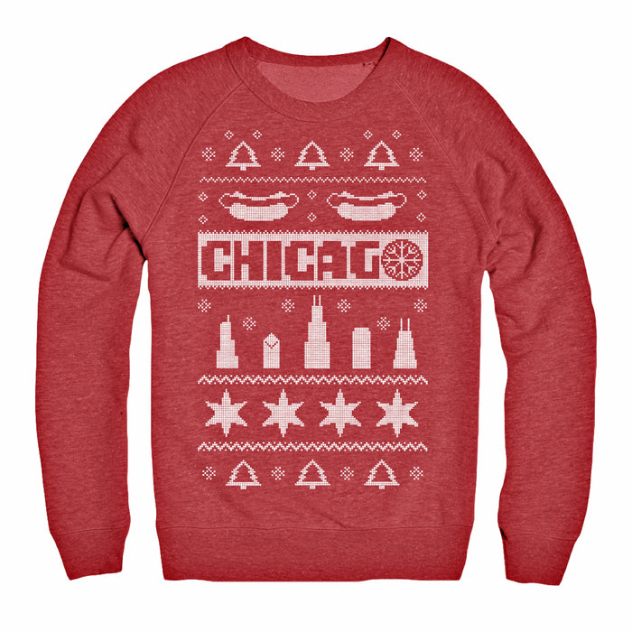 Chicago Ugly Christmas Sweater