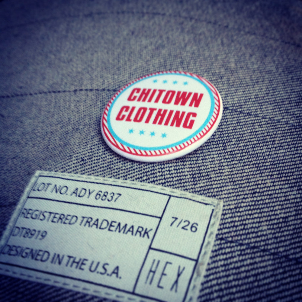 Chitown Clothing Button
