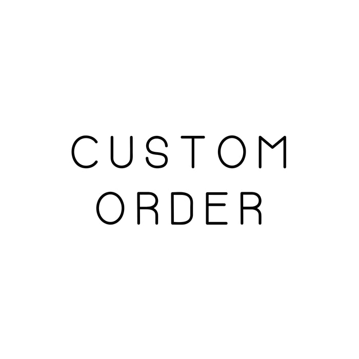 Chitown Clothing Custom Order