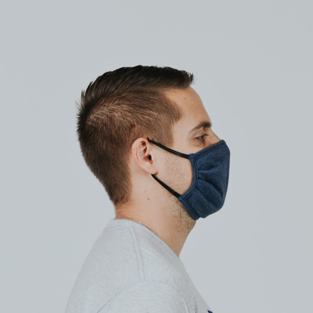 Fabric Blue Mask