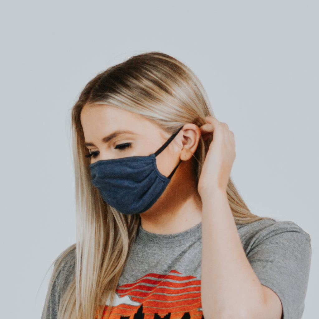 Womens Blue Mask