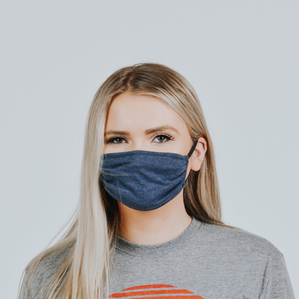 Ladies Blue Mask