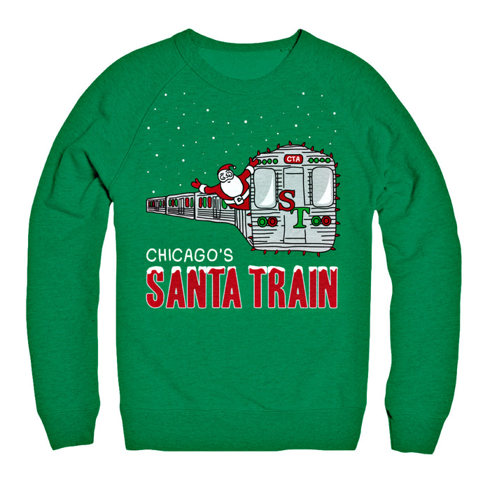 Santa Train Sweater