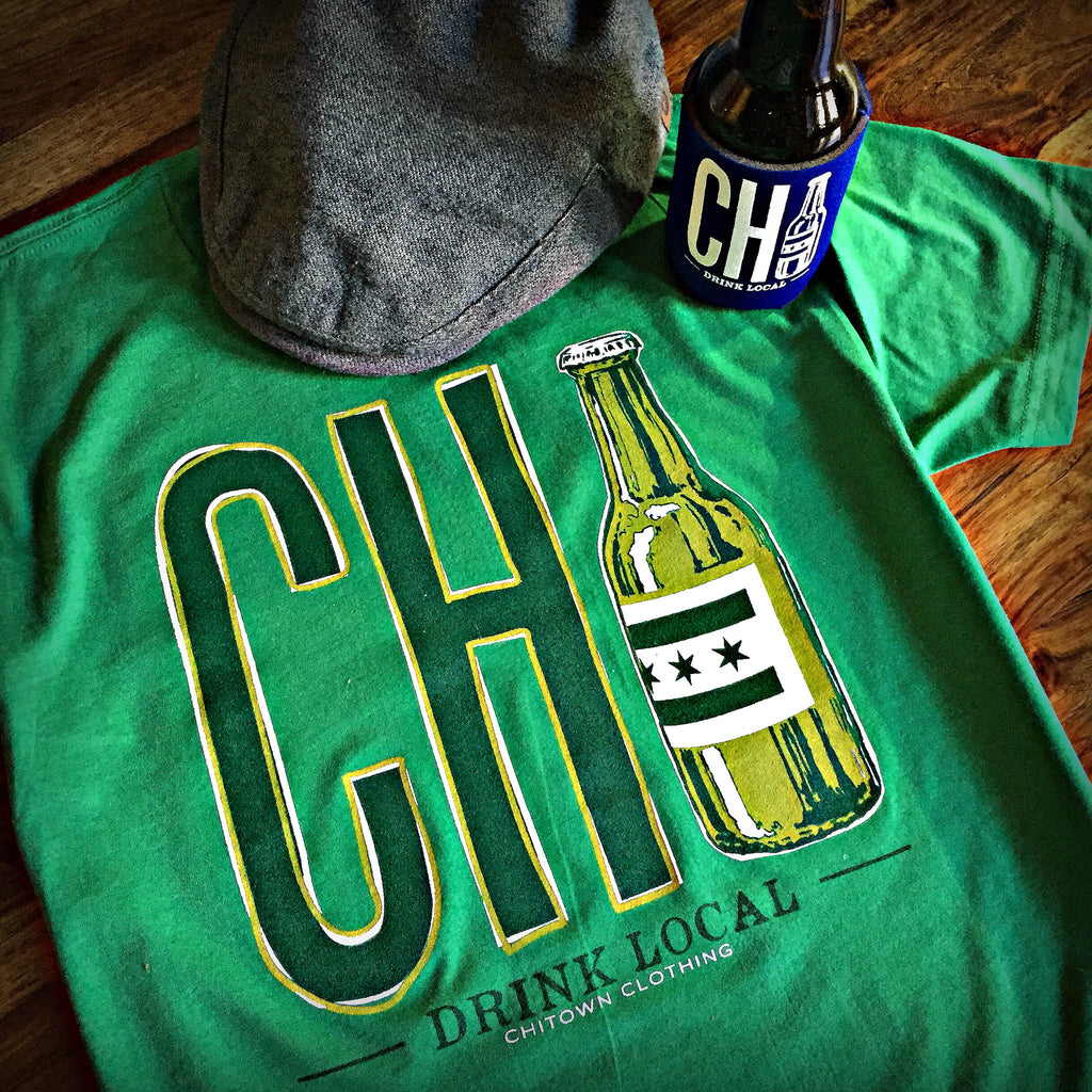 Chicago St. Patrick's Day Drink Local T-Shirt