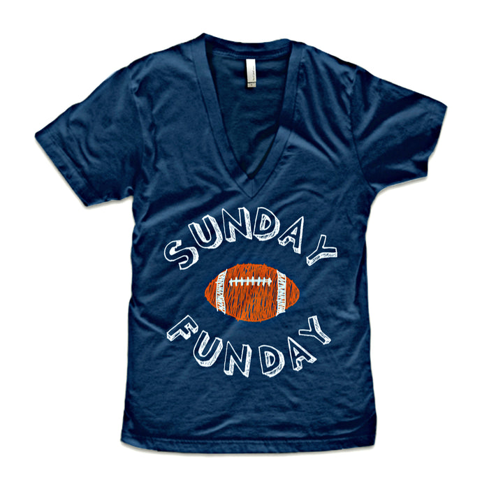 Sunday Funday Women's V-Neck