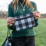 Plaid Neoprene Bags
