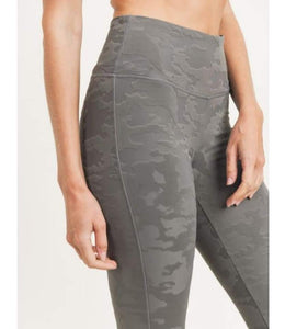 Jacquard Camo Leggings