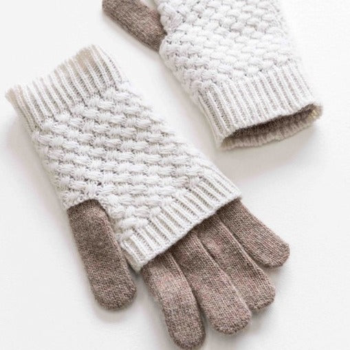 Two-In-One Fingerless Gloves