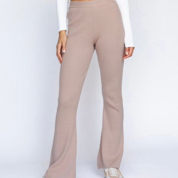 Yogi Flared Knit Pants