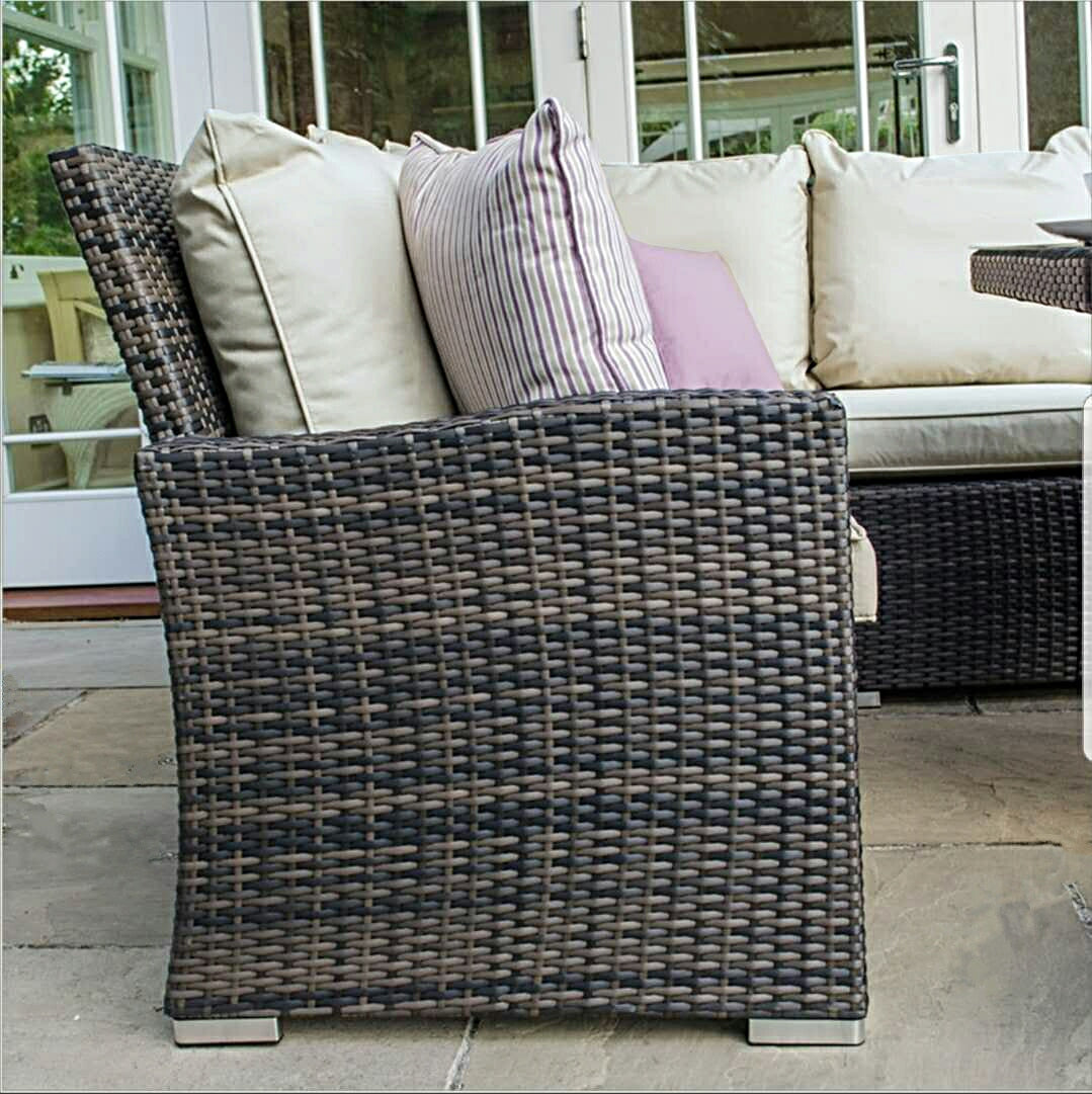 The Myla 9 Seater Rattan Garden Furniture Set Starlight Furniture