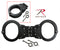 10064 Smith & Wesson Hinged Handcuff - Black