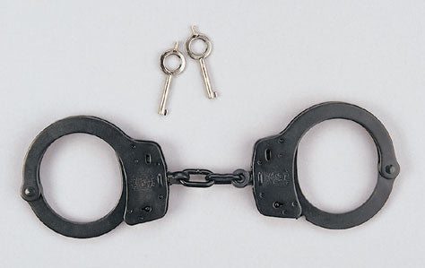 10097 Smith & Wesson Black Steel Handcuffs