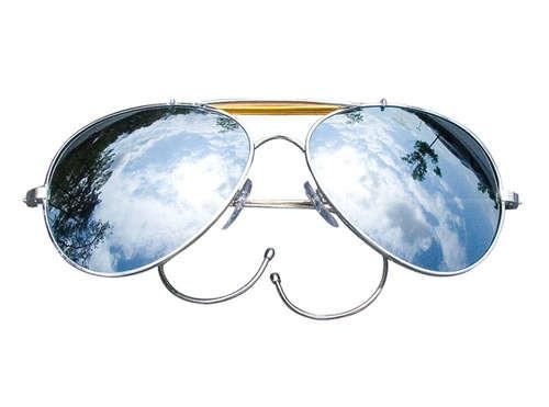 10301 Rothco Air Force Style Sunglasses - Mirror