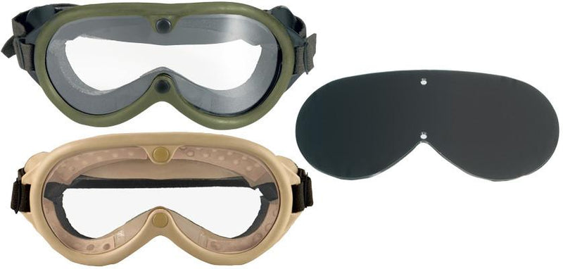 10346 Rothco GI Type Sun-wind-dust Goggles - OD / Tan