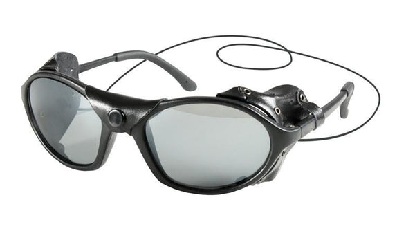 10380 ROTHCO TACTICAL SUNGLASS with LEATHER TYPE WIND GUARD / 'CE'