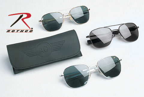 55MM AO EYEWEAR ORIGINAL PILOT SUNGLASSES 'CE'