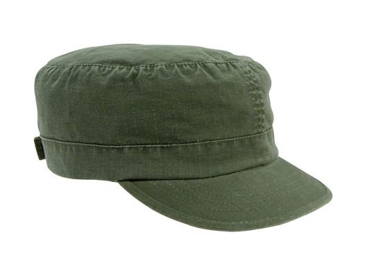 1155 Rothco Women Adjustable Vintage Fatigue Cap - Olive Drab