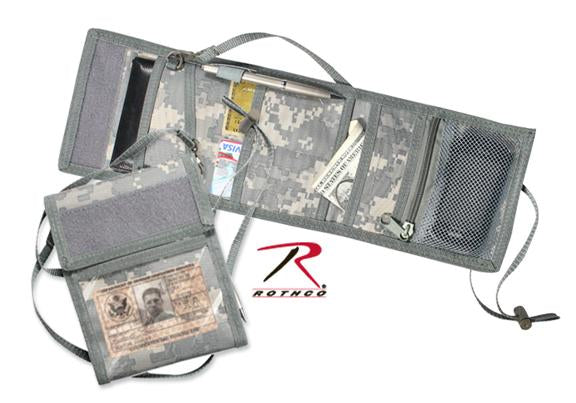 1240 Rothco Deluxe Id Holder - ACUDigital Camo