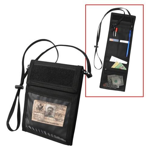 1245 ROTHCO DELUXE ID HOLDER - BLACK