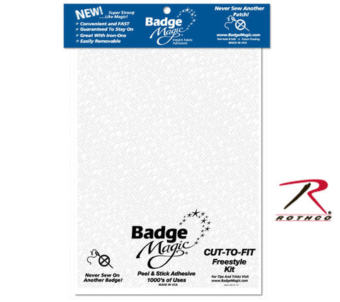 1284 Badge Magic Cut To Fit Freestyle Kit / Adhesive