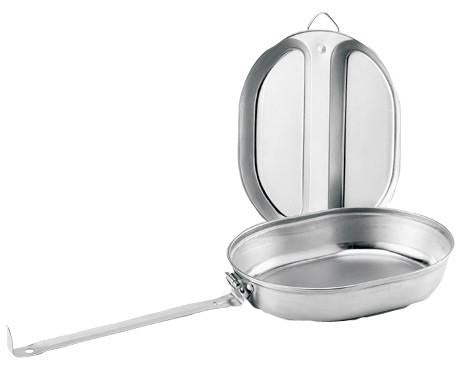 130 Rothco Gi Type Stainless Steel Mess Kit