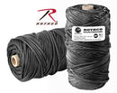 138 Rothco Nylon Paracord 550lb 300 Ft Tube / Black
