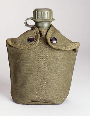 142 Rothco Heavy Weight Canvas Canteen Cover, OD