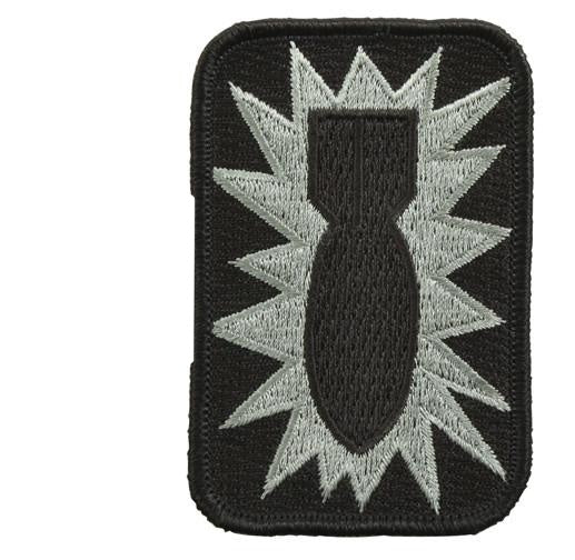 1564 Rothco 52 Ordnance Group Bomb Patch - 52nd Ordnance Group / Hook Back