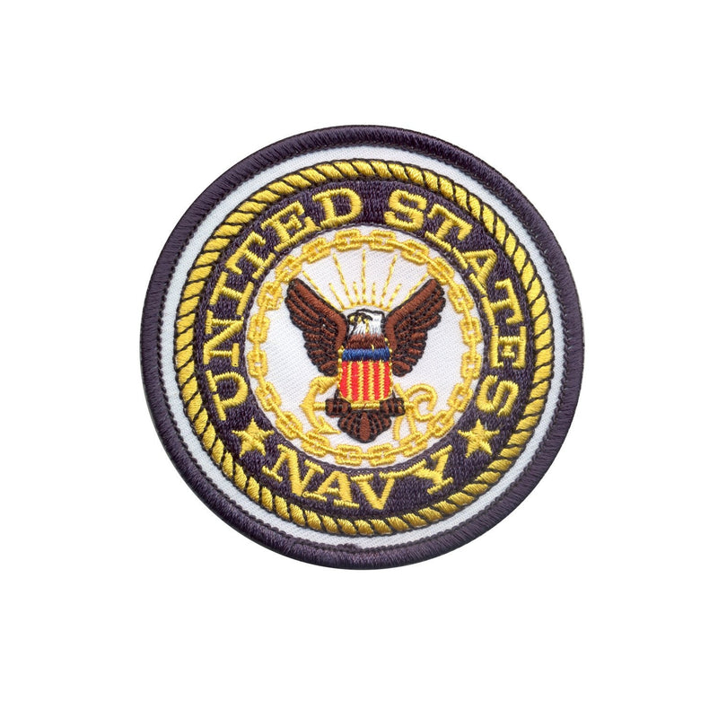 1590 Rothco US Navy Round Patch