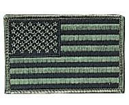 "1778 Rothco Subdued Us Flag Patch / 2"" X 3"""
