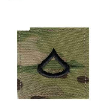 1792 Rothco Multicam Private First Class Insignia