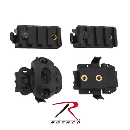 1895 Rothco Airsoft Helmet Accessory Pack - Blk