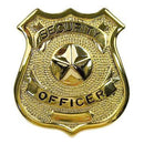 1905 Rothco Badge - Security Officer / Gold