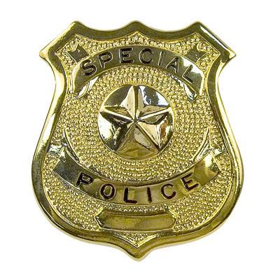 1907 Rothco Badge - Special Police / Gold