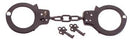 20083 Rothco Double Lock Steel Handcuffs - Black