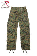 2366 Rothco Vintage Paratrooper Fatigues - Woodland Digital Camo