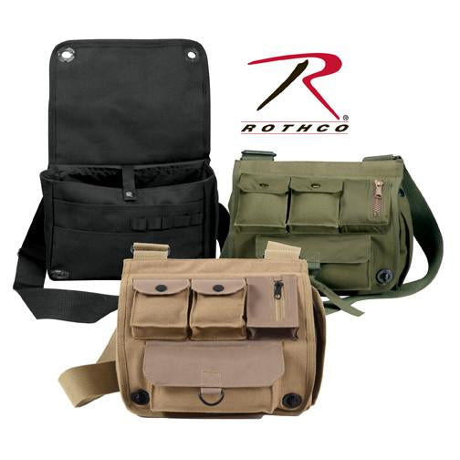 2396 Rothco Canvas Venturer Survivor Shoulder Bag