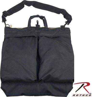 2439 Rothco G.I. Type Black Flyers Helmet Bag w/Shoulder Strap
