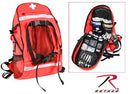 2445 Rothco First Aid / Trauma Backpack - Red
