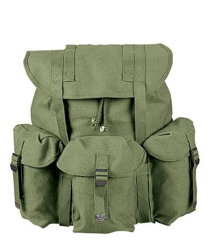2487 ROTHCO GI TYPE HW CANVAS MINI ALICE PACK - OLIVE DRAB